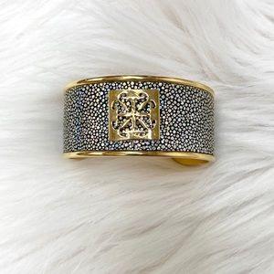 Rustic Cuff Daniele Stingray Cuff Shimmering Gold